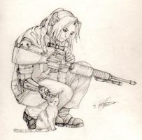 Elric at war 'tweaked' by Fullmetal-puppy