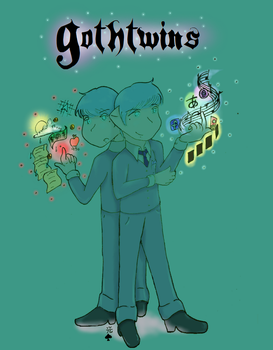 Gothtwins Coloured Alt by Choco-la-te