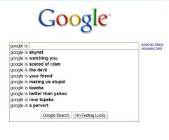 What google thinks of its self by cresathehedgefox13