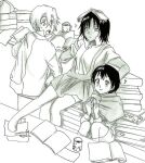 Bleach Kids-: Studious atmosphere - Continuation by Blychee