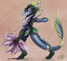 Another long awaited commission by Zraxi