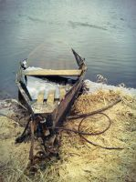 Old Boat by Wo-olverine