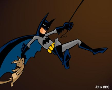Batman and Kitty by deaddays