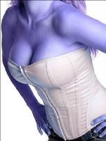 blueberry corset by 32690taylor