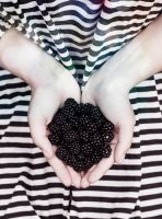 Here's my Blackberry Heart by enkopte