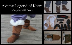 Avatar: Legend of Korra WIP by LookyLolo