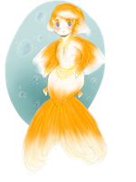 Goldfish Boy Adoptable SOLD by Ask-MusicPrincess3rd