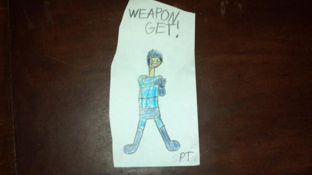 Weapon Get (Megaman) by PeanutTechno2