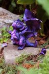 Violet Nebula Dragon by The-SixthLeafClover