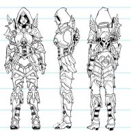 Angelic Valla armor concept by carlinx