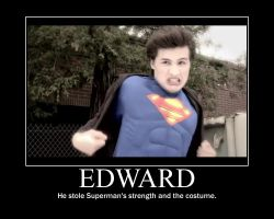 Smosh Edward as Superman by htfman114