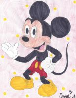 Mickey mouse by HTFWhiskersthecat