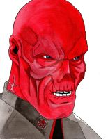 Red Skull by nathanobrien
