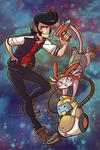 Space Dandy by SOLAR-CiTRUS