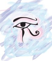 Eye Of Horus by Gingybreads