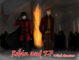 Rob and KF: Witch Hunters by young-rain