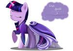 Gala Fashion 2013 - Twilight Sparkle by selinmarsou