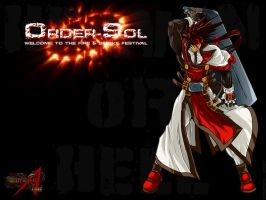 Order-Sol from Guilty Gear by Chupon