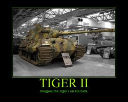 WWII Tiger II by Onikage108