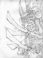 Tyranids Swarmlord by Pinilo