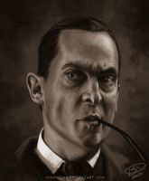 Jeremy Brett as Holmes 03 by Windfreak