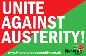 Unite Against Austerity by Party9999999