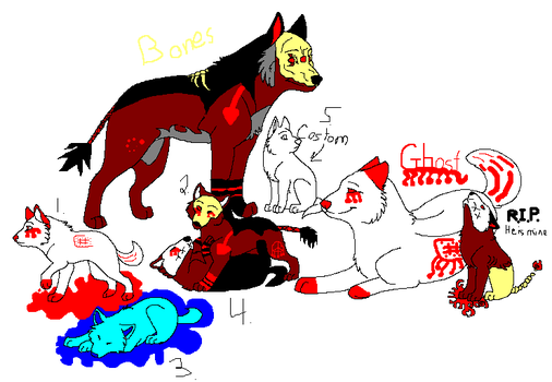 bones pups that are for free by lexiwolf13