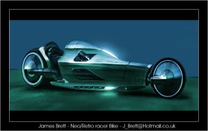 James Brett Neo - Retro Bike by JamesBrett