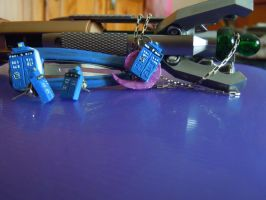 TARDIS accesories. by Silvestrin