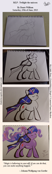 Twilight the unicorn - Work in progress by DanteIncognito