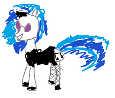 Vinyl Scratch a a maid by tomtortoise