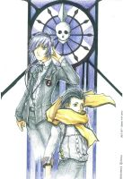 MC and Ryoji by Nazgullow