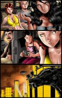 Intruder Zophia #5 Page 1 colors by Lannytorres