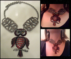 Magic of the Owl - Necklace by Lai-Tut