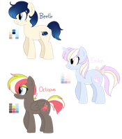 [CLOSED] - Ponies Batch 14 by Featheries