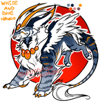 :DRAGOMYTH AUCTION CLOSED: RARE White Blue Mango: by Mayasacha