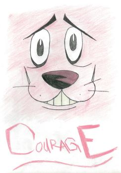 Courage the Cowardly Dog by DamonOS777