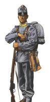 Austro-Hungarian soldier 1914 by JozsefSvab