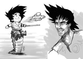 DAC-Goku Re-imagine by Jerner