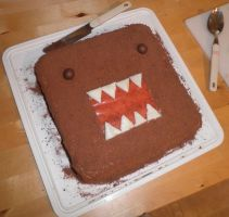 Domo Cake by The-Sunshine-Kid