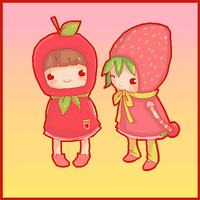 fruity cuties by appiepie