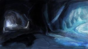 Speed Painting Studies - Crystal Caverns 04/06/12 by DemonicMasterpiece