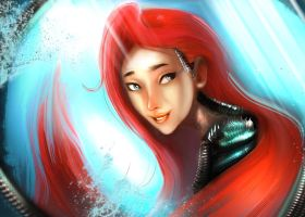 WitchBladeAriel by kainthebest