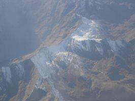 Alps from the plane 3 by RadishStick