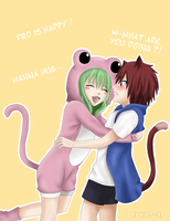 Human Frosch and human Lector - FT by Kiko-x3