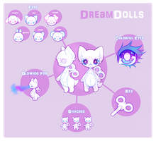 Dreamdolls by VanillaToxin