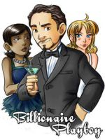 Tony Stark Billionaire Playboy by ScuttlebuttInk