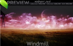 Windmill by fullcirclegfx
