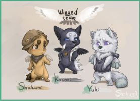 Winged team by AvAmri