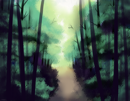 Forest by pikaira